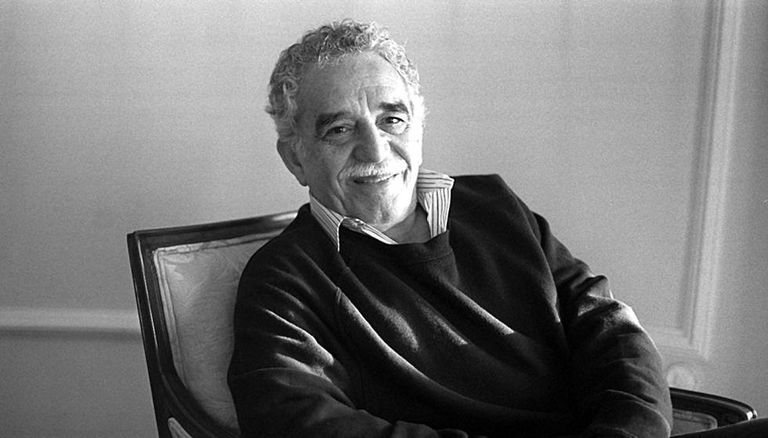 Gabriel García Márquez in May 1996 in Madrid.