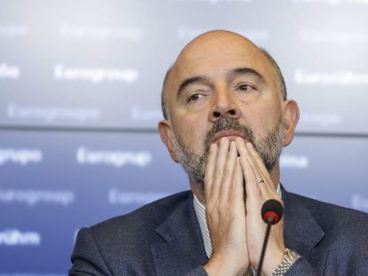 European Commissioner for Economic and Financial Affairs Pierre Moscovici on Monday.