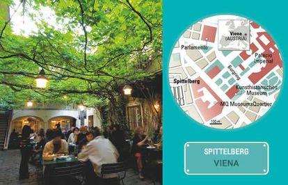 A bar in Vienna's Spittelberg district.