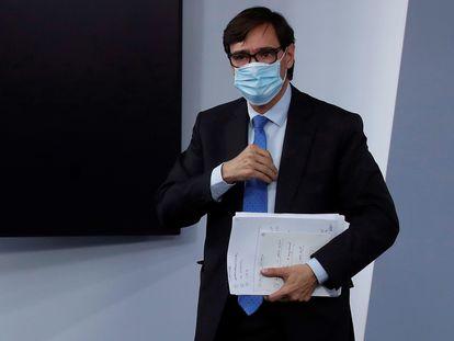 Health Minister Salvador Illa.