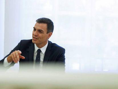 Spanish PM Pedro Sánchez.