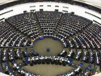 The European Parliament in Strasbourg.
