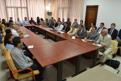 Peace talks between the Colombian government and FARC representatives held on March 5 in Havana.