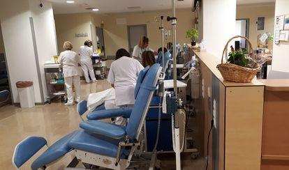 The Hospital Clínico in Granada, Andalusia.