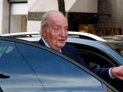 Spain's emeritus king Juan Carlos 1.