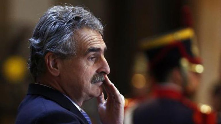Argentinean Defense Minister Agustín Rossi.