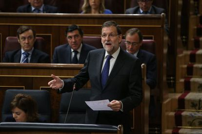 Prime Minister Mariano Rajoy asked the Socialists to detail their plans for a federal state in Congress on Wednesday.