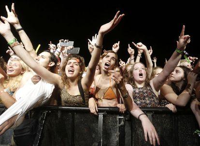 Festivalgoers at last year's FIB.