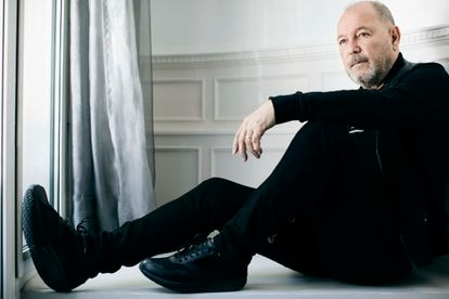 Rubén Blades, during his latest trip to Madrid to accept Spain's Gold Medal of Merit in the Fine Arts.