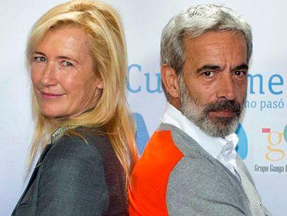 Spanish actors Ana Duato and Imanol Arias.