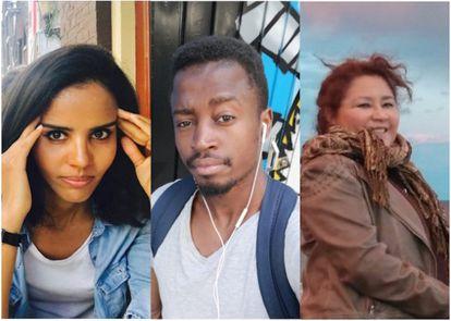 Three victims of racist realtors in Spain.