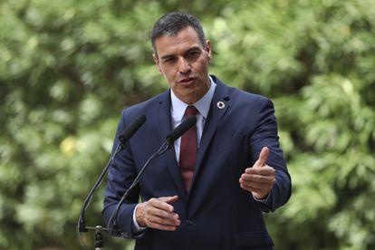 Spanish Prime Minister Pedro Sánchez earlier this month in Palma de Mallorca.