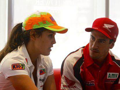 Laia Sanz and Joan Barreda.