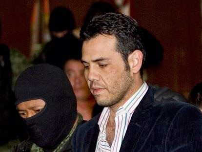 Vicente Zambada after being arrested in Mexico City in March 2009.
