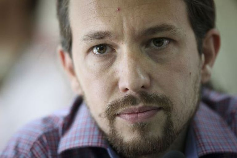 Pablo Iglesias, head of Podemos, wants more control over the media.