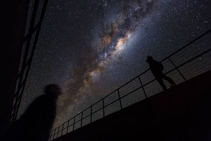 The Milky Way, seen from Paranal Observatory in Chile.