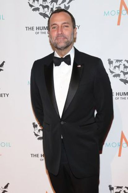 James Costos at a charity gala in New York.