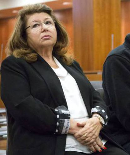 Carmen Marín, owner of the animal refuge, during the trial.