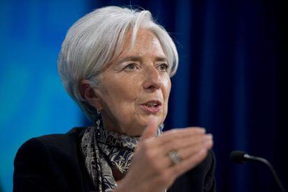 IMF director Christine Lagarde in a file photo.