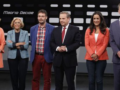 The contenders in the race for the Madrid mayor's office faced off on Tuesday.