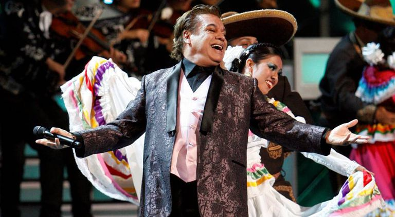 Mexican song idol Juan Gabriel.