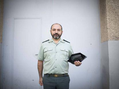 Civil Guard Commander Víctor Esteban.