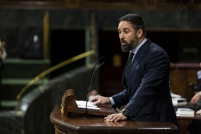 Vox leader Santiago Abascal said he will lead a motion of no confidence against PM Sánchez in September.