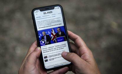 The new EL PAÍS app.