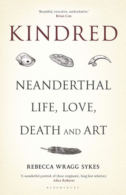 Book cover of 'Kindred,' by Rebecca Wragg Sykes.