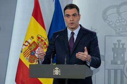 Prime Minister Pedro Sánchez on Saturday.