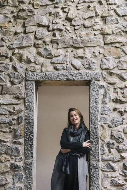 Mireia Massagué, the museum's new director in the 16th-century farmhouse.