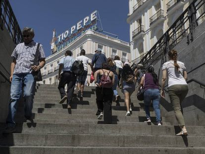 """The Madrid Metro was a regular target for one recently detained """"upskirter."""""""