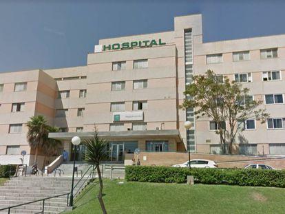 The hospital of La Línea de la Concepción.