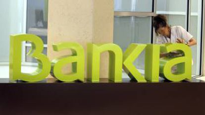Bankia was bailed out by the state in 2012.