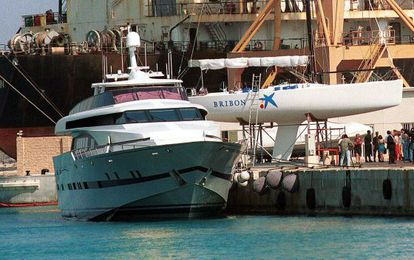 The Fortuna yacht, which was given as a gift to King Juan Carlos.