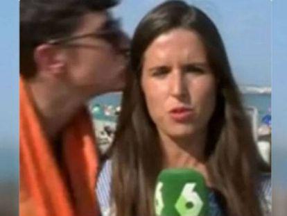 Spanish journalist Elizabeth López.