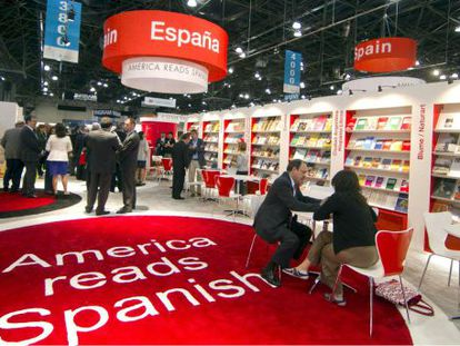 Spain's stand at the 2010 New York Book Fair.