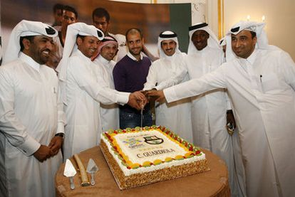 Guardiola travels to Qatar to promote his candidacy for the organization of the World Cup.