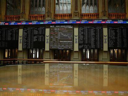 The Spanish stock exchange.