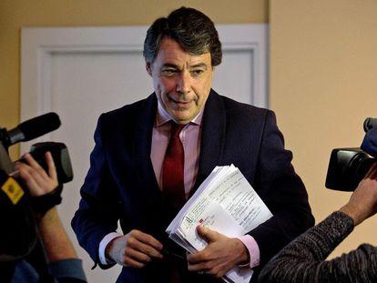 Former Madrid regional premier Ignacio González, whose government is under scrutiny over Púnica.