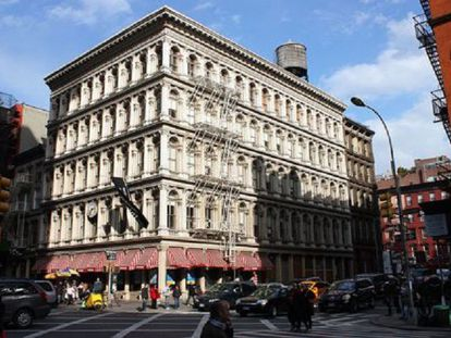 Video: The Haughwout Building in New York (Spanish narration).