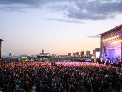 The Primavera Sound festival.