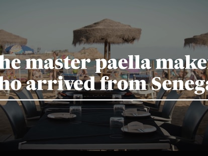 Video | The Senegalese migrant who arrived in Spain by boat and is now a master paella maker