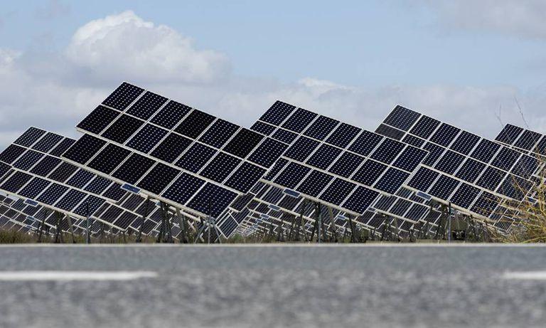 Solar plant in Spain.