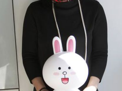 Sunny Kim, Line's chief executive in Spain.