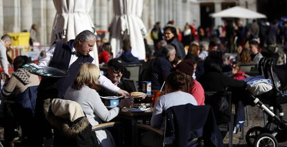 Spain's hospitality industry is doing particularly well.