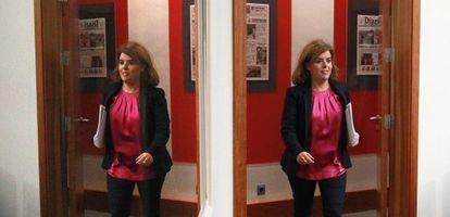 Deputy Prime Minister Soraya Sáenz de Santamaría says the website will clear up how the government uses public money.