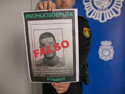 Spanish National Police had to clear Francisco's name after he was accused of beating an elderly woman.
