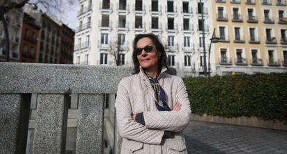 """Eve Baduer is an artist and a teacher who refuses to leave the city center. """"The soul of Madrid was in this neighborhood not long ago but now it has been sold."""""""