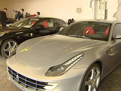 Video: The Ferraris that were up for auction (Spanish narration).